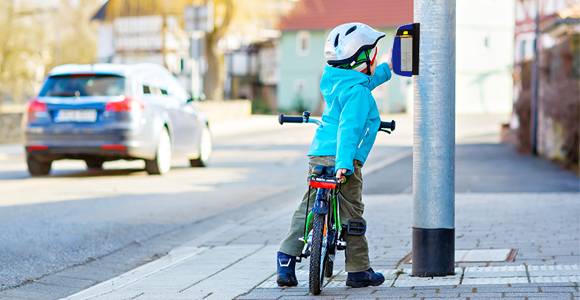 Tryckknappar för stadsvägar | SWARCO