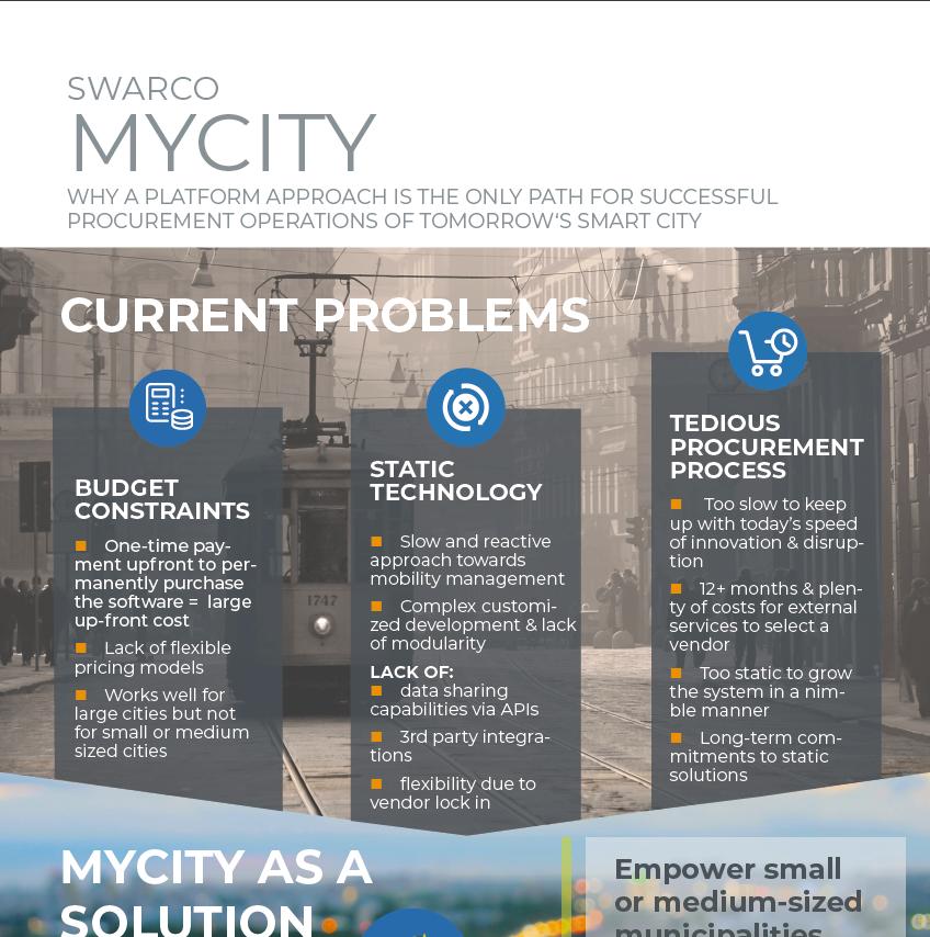MyCity Modern Mobility Platform Approach
