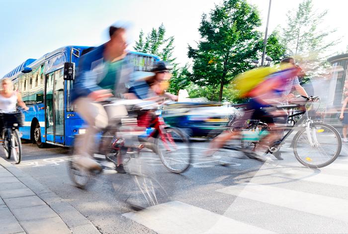 Cykeltur med færre stop