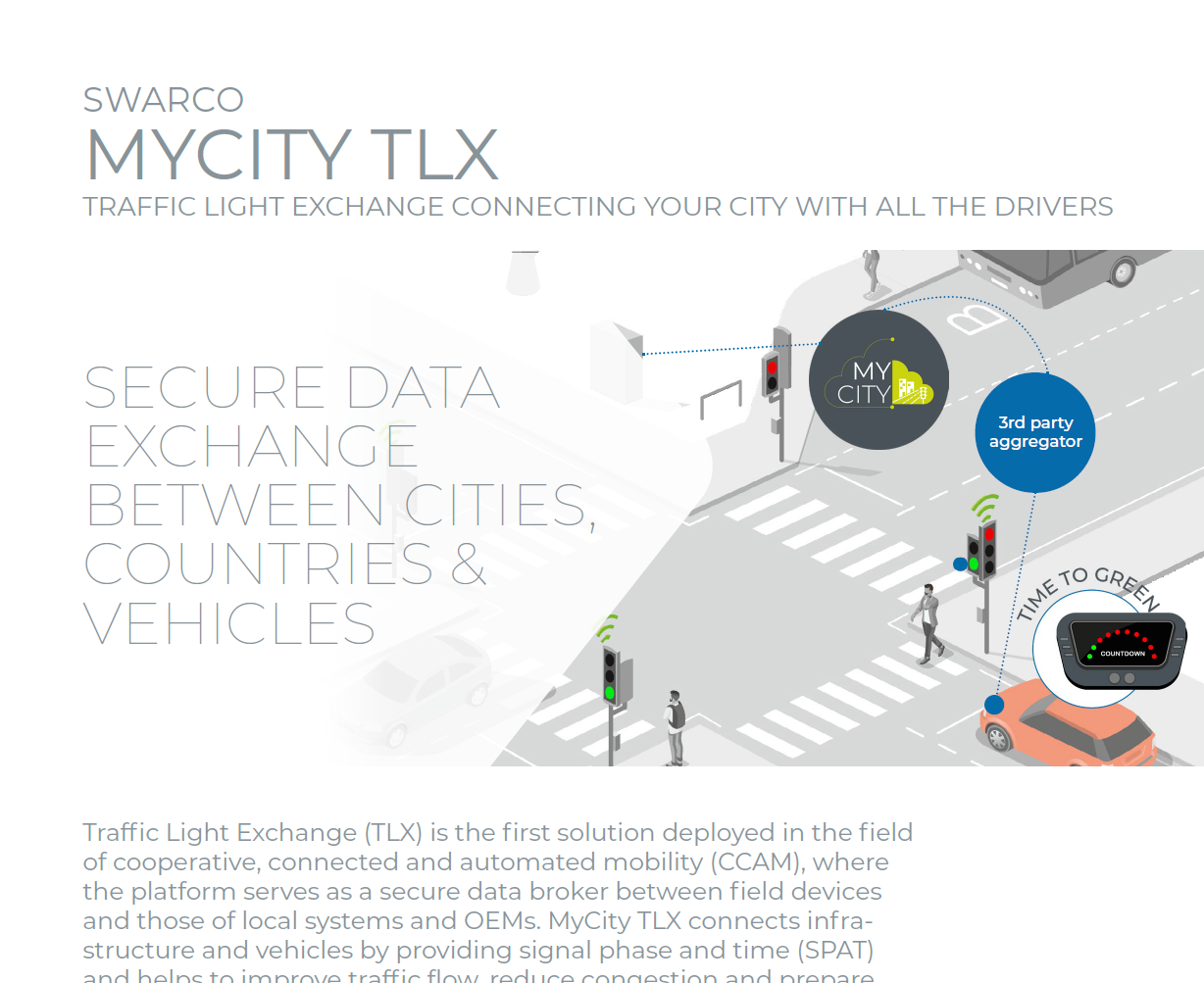 SWARCO MyCity TLX Solution Sheet 2021