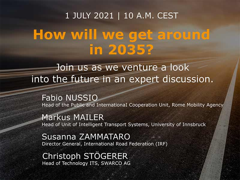 Webinar: When the infrastructure talks to the vehicles: C-ITS in practice