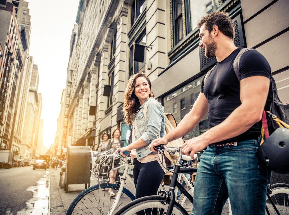 Syklister i byen støtter miljøbevissthet for bedre helse | SWARCO