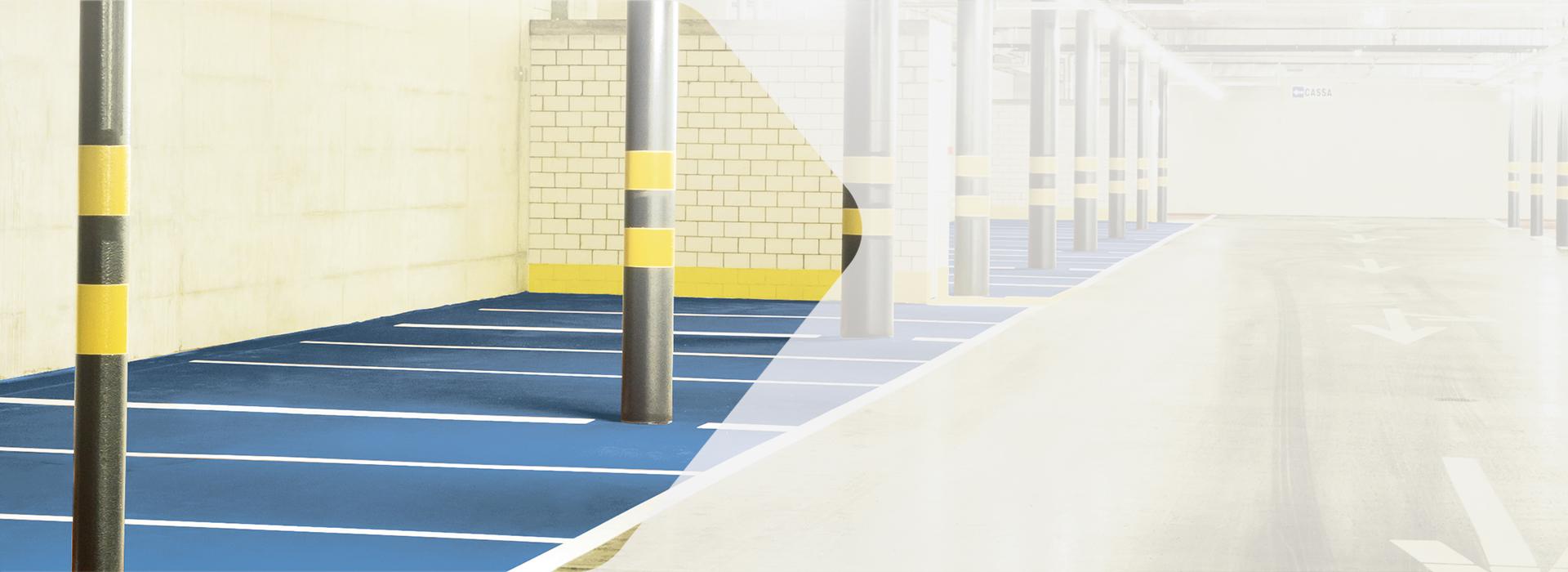 Hallen-/Indoor-Markierungen