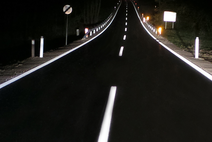 permanent pavement marking tapes