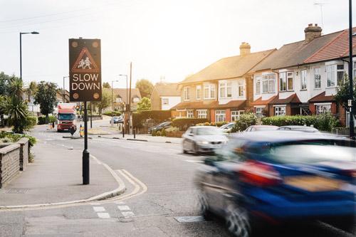 Alert drivers of the hazards around schools