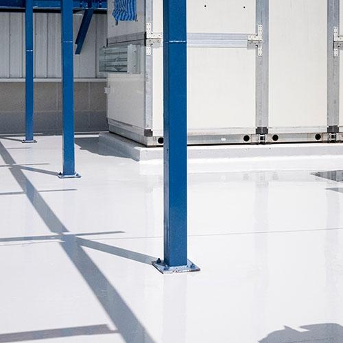 Metall- och golvbeläggning