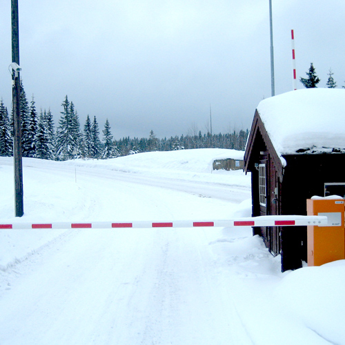 High Security Barrier for Mountain Roads