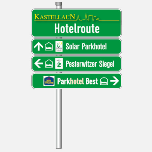 HOTELROUTE SIGNS