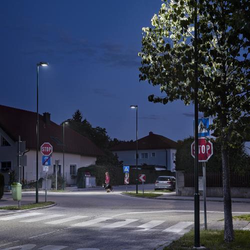 Gadebelysning med LED