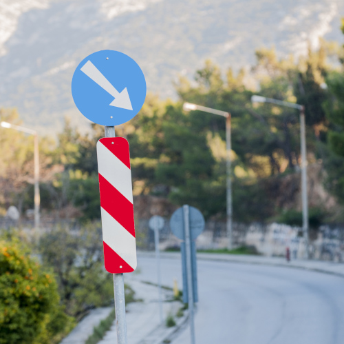 TRAFFIC DELINEATOR POSTS AND BARRIERS