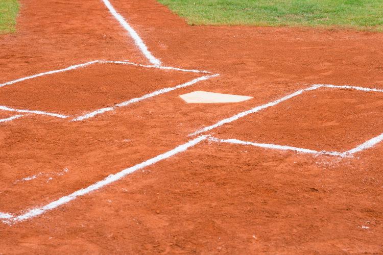 Feldkreiden für Baseball- und Softballfelder