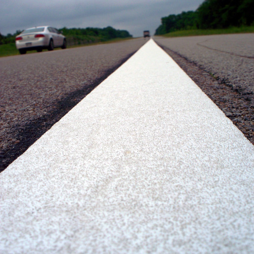 Temporary, Removable Pavement Marking Tape