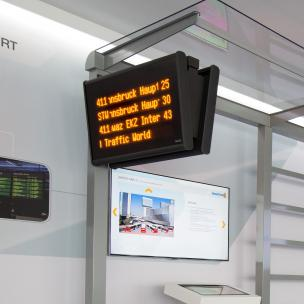 public signage in LED technology