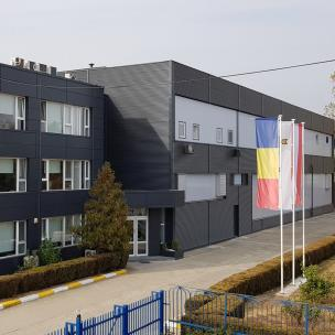 SWARCO's paint factory in Romania